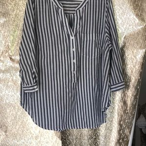 Striped Old Navy Tunic 2X